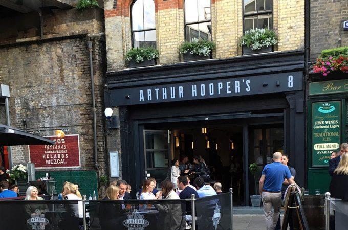 Arthur Hooper's restaurant review