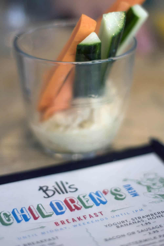Bill's restaurant review