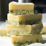 Spinach and lemon bars recipe and Veggie Desserts book review