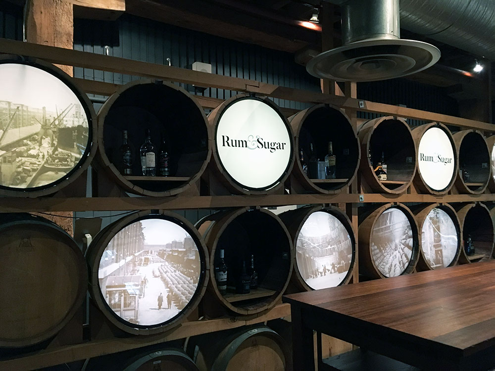 Rum and Sugar Museum of London Docklands restaurant review