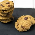 Sweet potato and orange oaty cookies