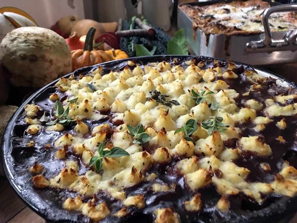 Bill's butternut squash lasagne