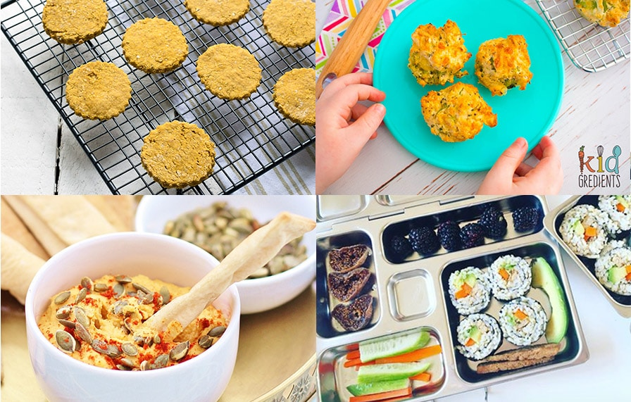 healthy and easy vegetarian lunch box ideas for kids