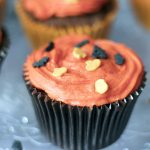 Easy Halloween chocolate cupcake recipe