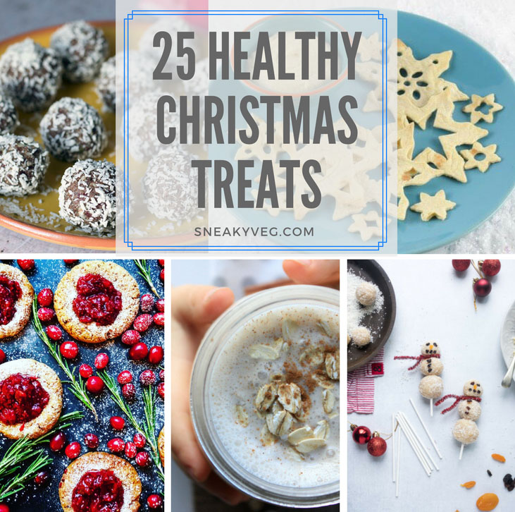 25 Healthy Christmas Treats For Kids Sneaky Veg