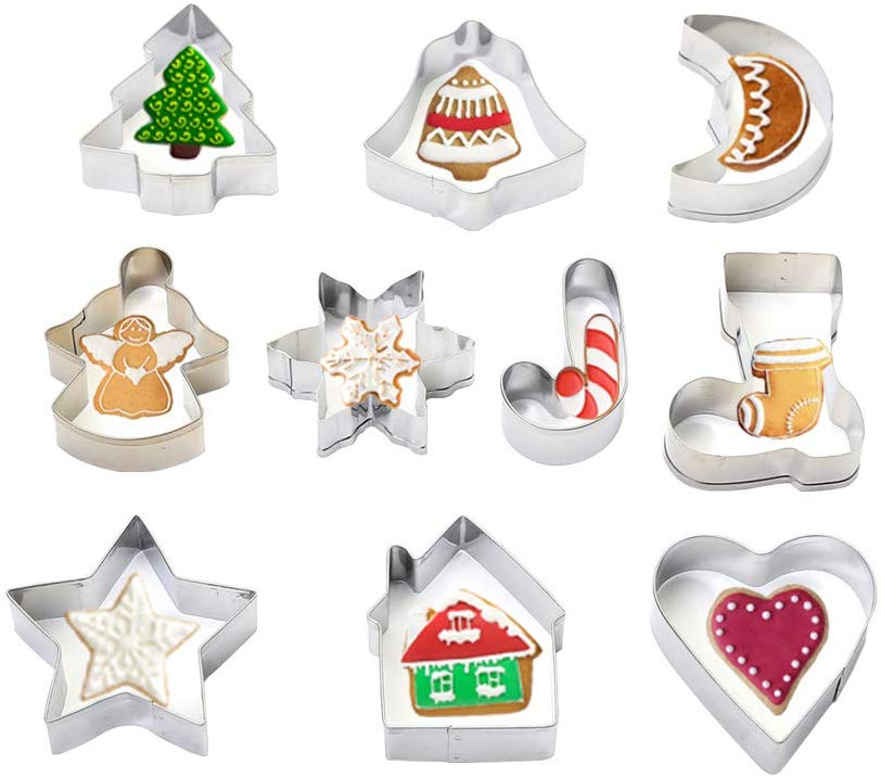 Christmas cookie cutters (Pic Amazon)