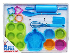 Silicone bakeware kit Amazon - cooking gifts for kids