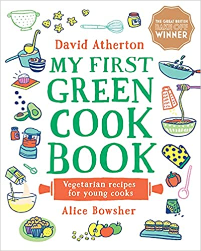 My first green cookbook cover