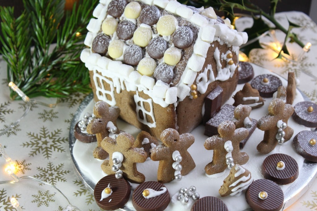 healthier gingerbread recipe by The Free From Fairy - 25 healthier christmas treats for kids