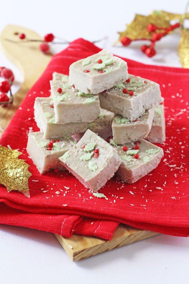 healthy coconut and banana christmas fudge my fussy eater - 25 healthy christmas treats for kids