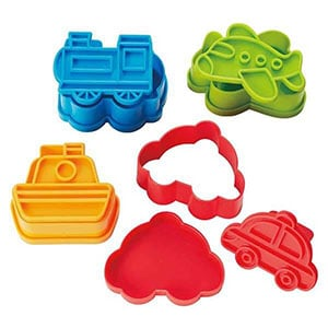 Eats Amazing sandwich cutters - cooking gifts for kids