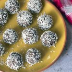 Nut free coconut snowballs – a healthy Christmas treat