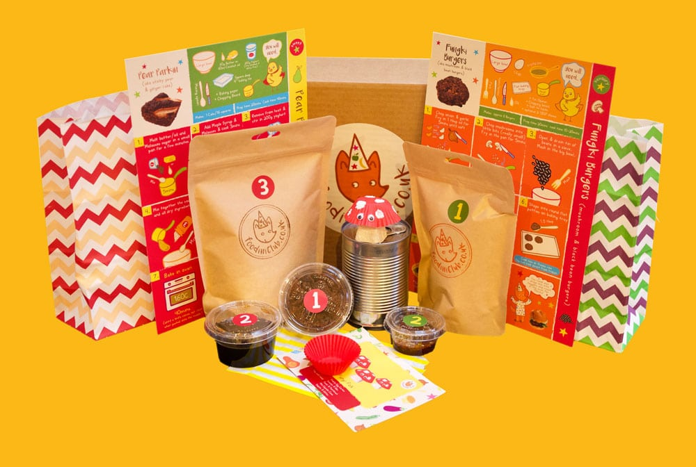 Foodini recipe kits - christmas cooking gifts for kids