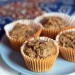 Healthy carrot muffins – vegan and nut free