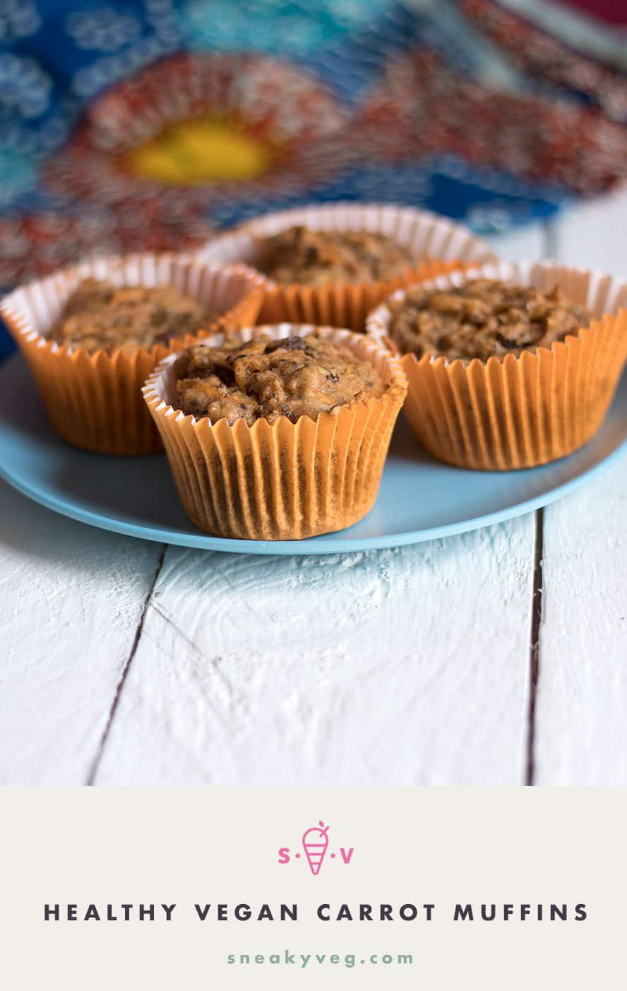 These healthy carrot muffins will go down a treat with anyone looking for a delicious, filling bake that is low in refined sugar. They're packed full of healthy ingredients and suitable for vegans