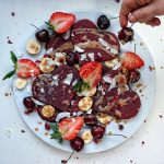 Beetroot heart pancakes by Food Healer Mummy
