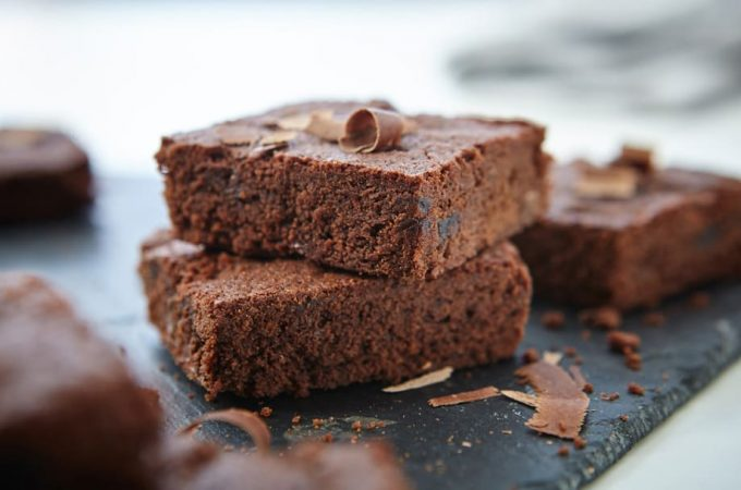 Double choc cherry brownies by Splenda