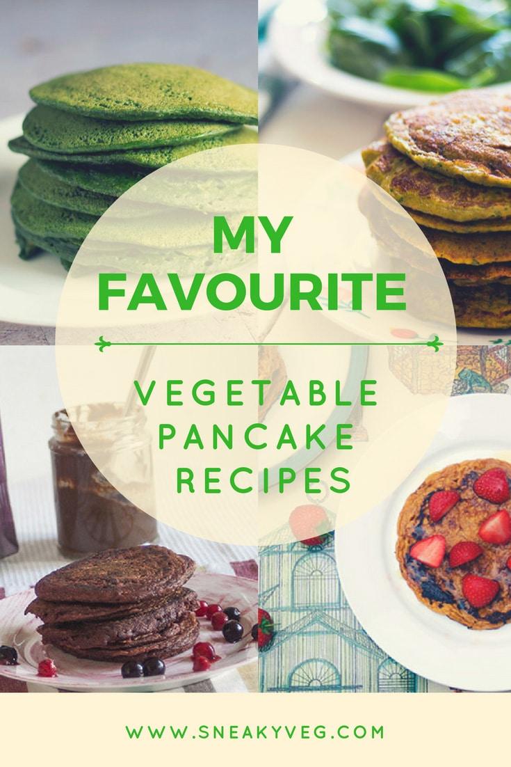 Vegetable pancake recipes