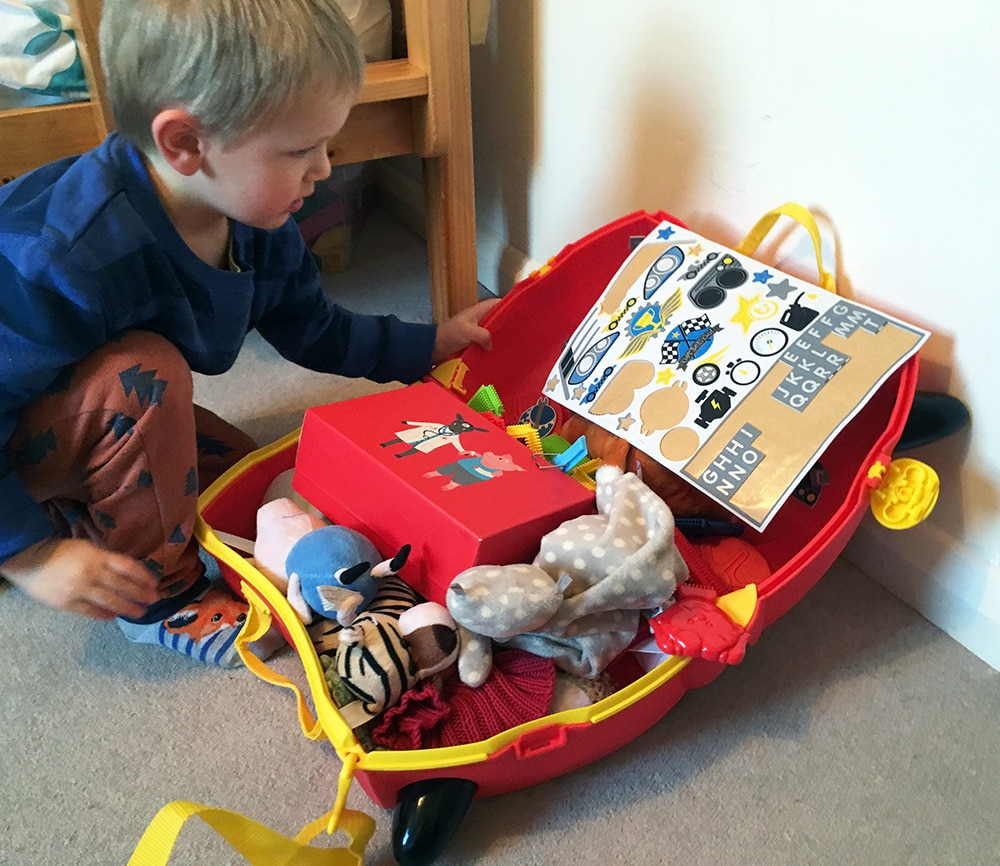 trunki rocco ride on suitcase