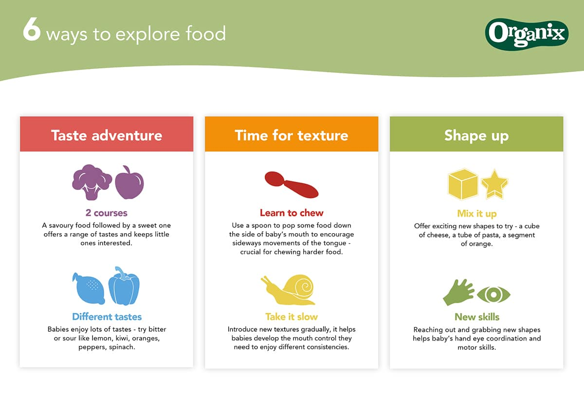 Six ways to explore food by Organix