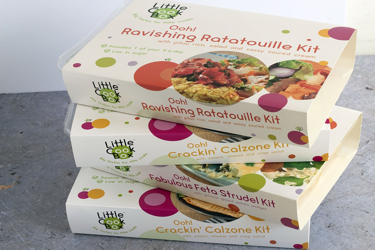 Little Cook Box cooking kits for kids