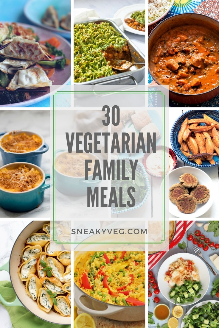 30 vegetarian family meals