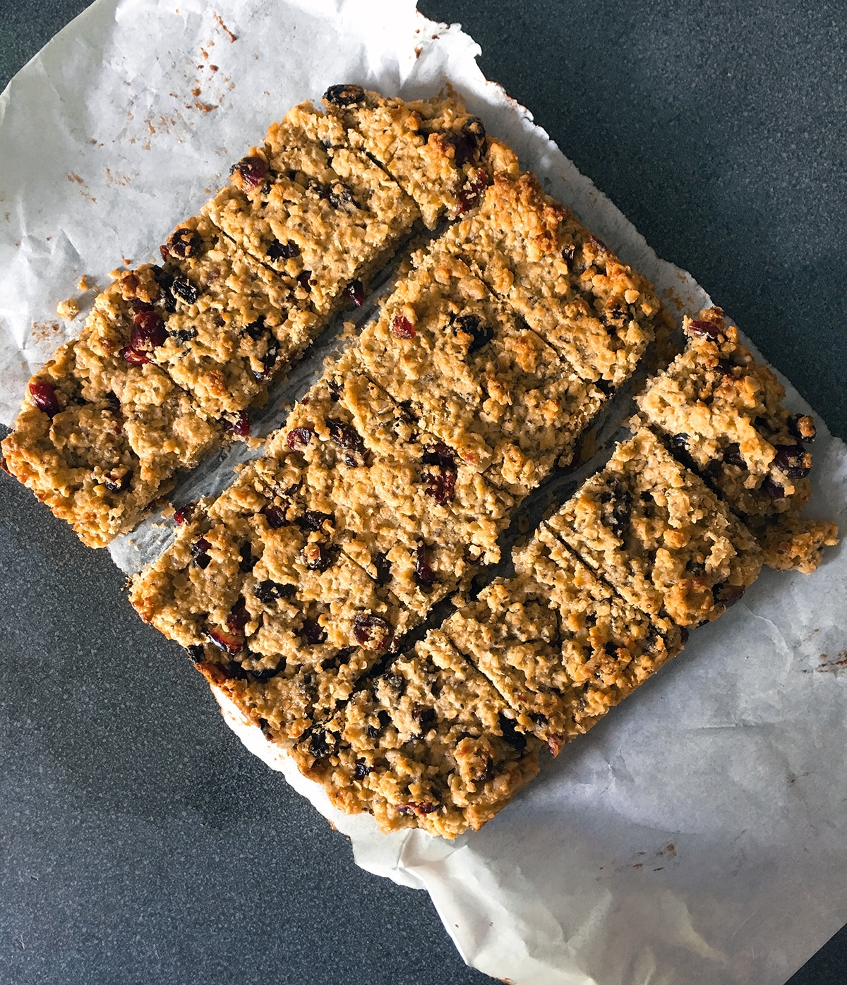 fruity flapjacks by My Fussy Eater