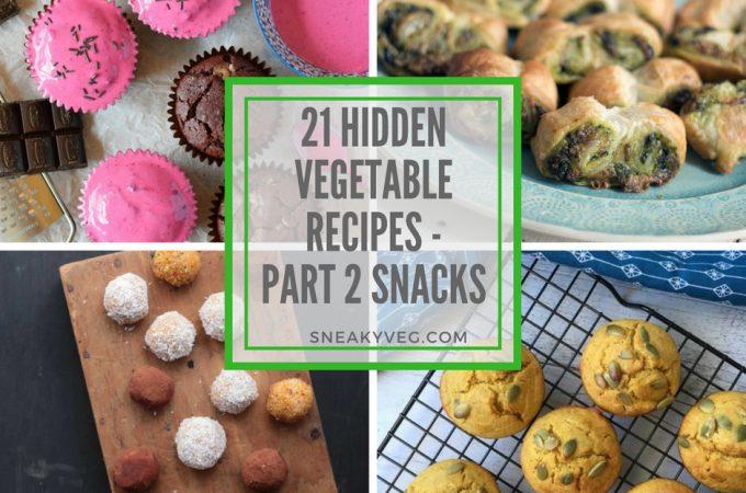 21 hidden vegetable recipes