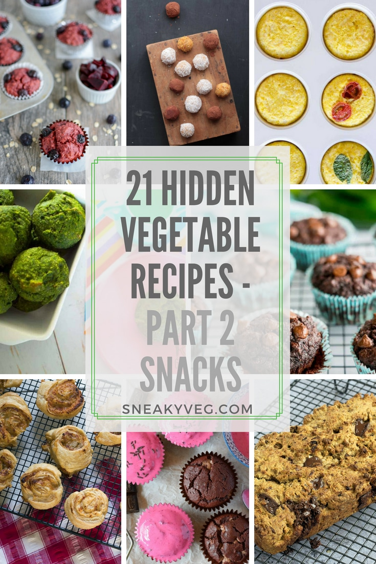 21 hidden vegetable recipes