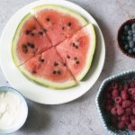 DIY watermelon pizza recipe