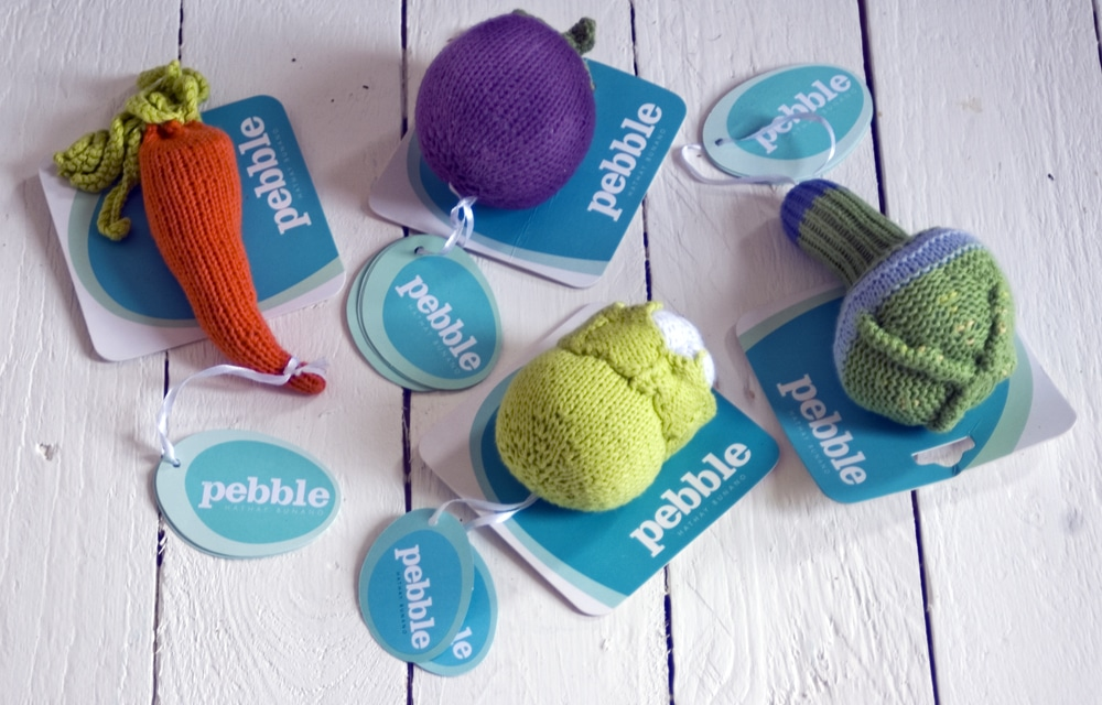 Pebble rattles giveaway