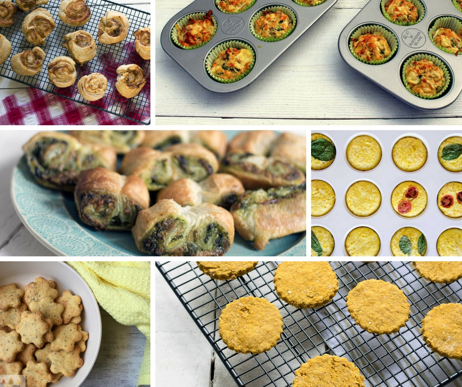 21 hidden vegetable recipes - snacks