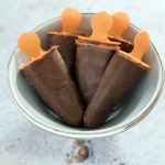 Chocolate avocado ice lollies by Sneaky Veg