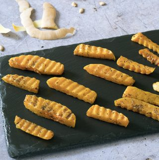 crinkle cut butternut squash chips