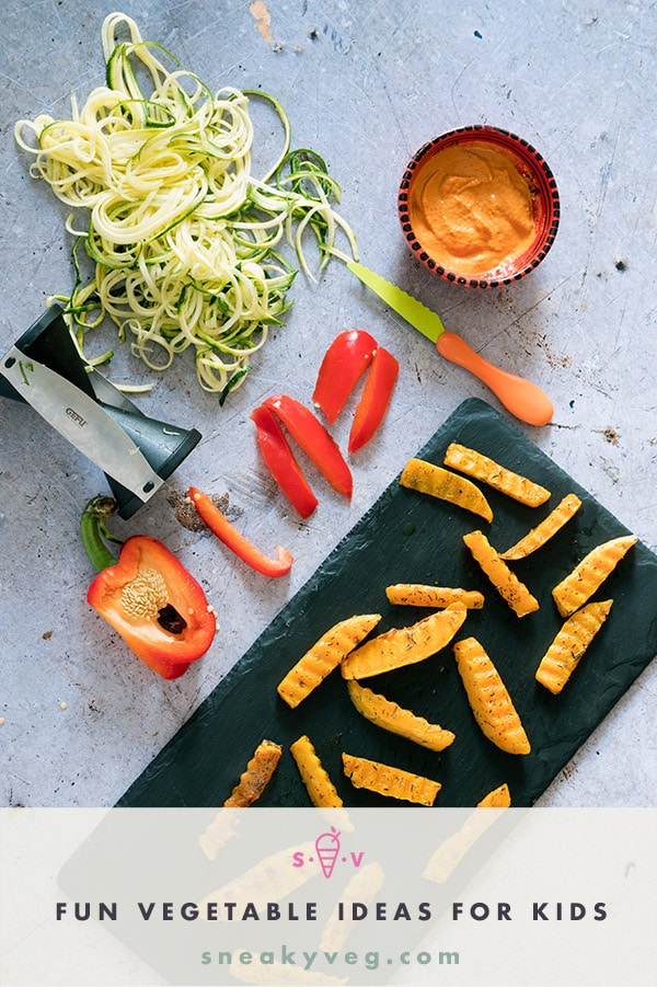 fun vegetable ideas for kids by Sneaky Veg