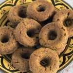 vegan baked pumpkin doughnuts recipe by Sneaky Veg