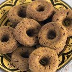 Baked pumpkin doughnuts (vegan)