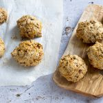 carrot wholemeal soda bread rolls recipe by Sneaky Veg