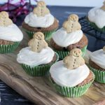 healthy gingerbread muffins by Sneaky Veg