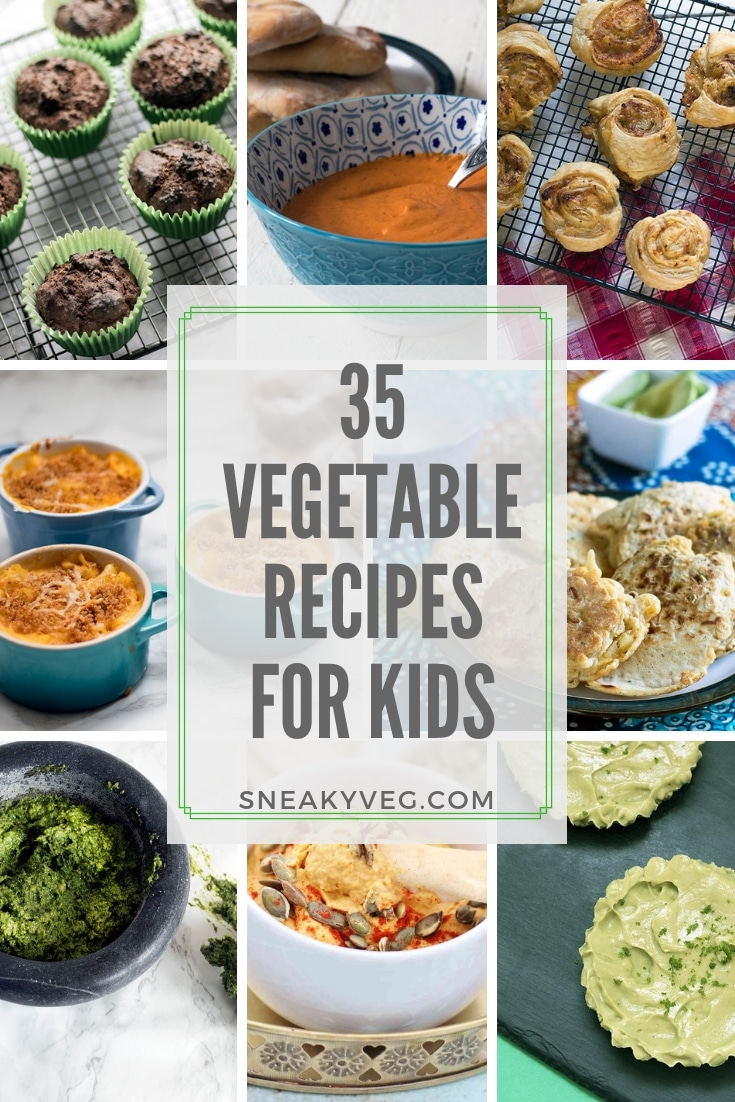 vegetable recipes for kids by Sneaky Veg