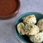 easy baked arancini by Sneaky Veg