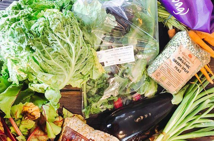 Local Greens Veggie ++ bag contents