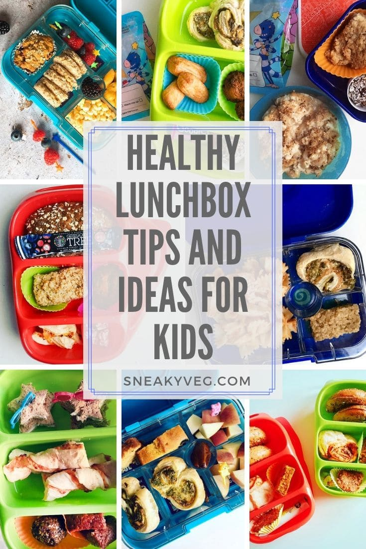 lunchbox collage - healthy lunchbox ideas for kids