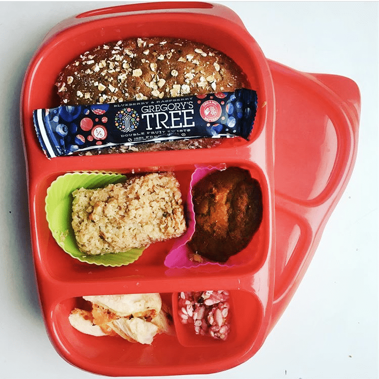 red goodbyn lunchbox - healthy lunch ideas for kids