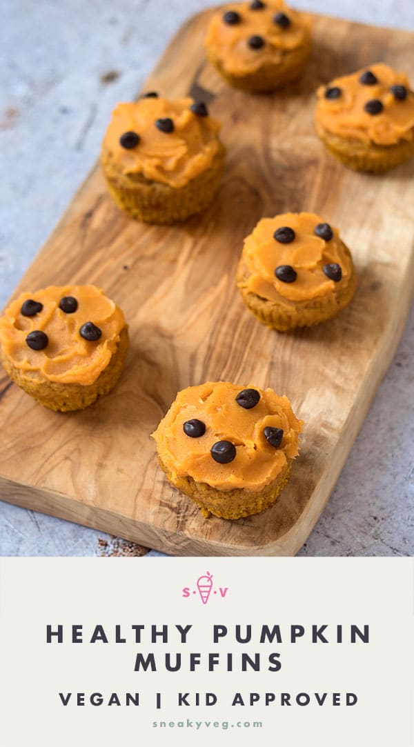 pumpkin muffins with sweet potato frosting