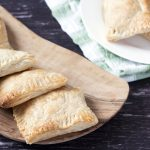vegetarian pasties with potato curry fillling