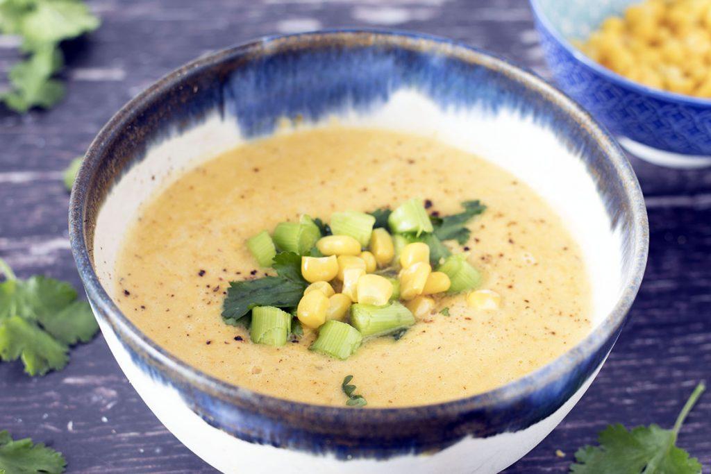 squash and corn chowder
