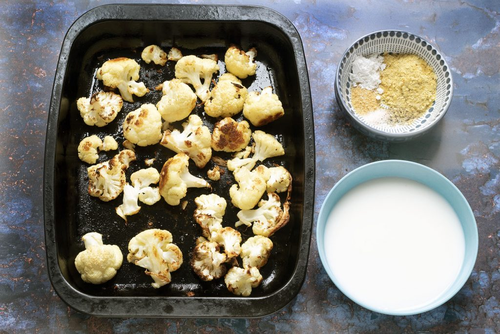 ingredients for roasted cauliflower sauce